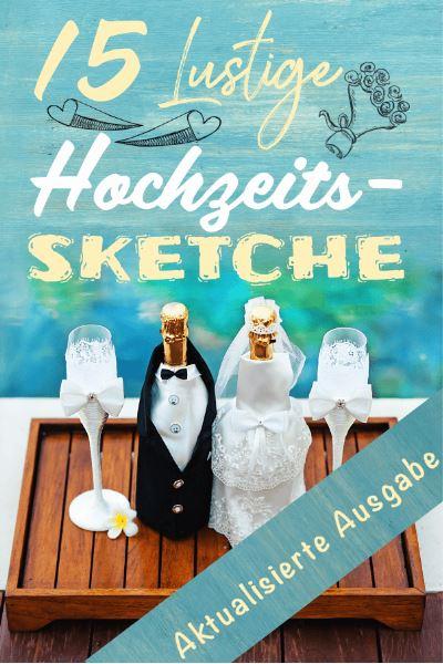 15 Hochzeitssketche Cover