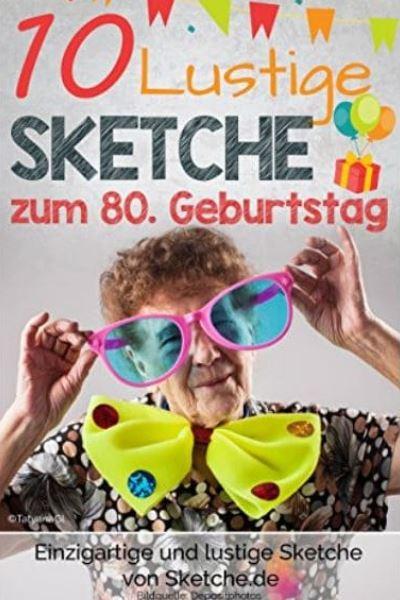 Sketche zum 80. Geburtstag Cover